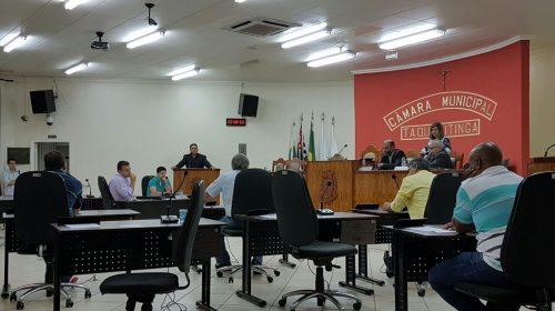 Câmara Municipal realiza sessão ordinária