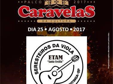 """Projeto 'Seresteiros da Viola"""" da ETAM 'Santa Cecília' se apresentam na Festa do Peão em Barretos"""