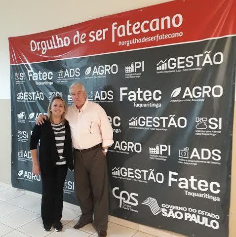 Antonio Roberto Sabio, representante da Prefeitura, faz parte da Congregação da Fatec Taquaritinga