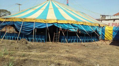 O circo chegou em Taquaritinga