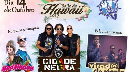 Clube Náutico Taquaritinga divulga atrações do Baile do Hawaii