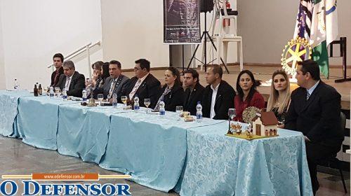 Governador do Rotary Club realiza visita em Taquaritinga