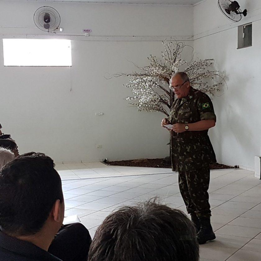 Comandante Militar do Sudeste realiza visita ao Tiro de Guerra de Taquaritinga