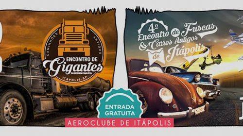 Itápolis terá encontro de carros antigos neste final de semana
