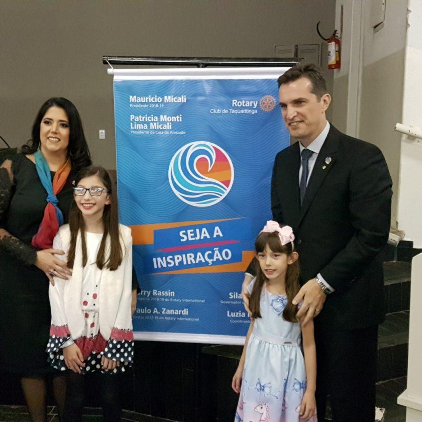 Rotary Club de Taquaritinga empossa novo Conselho Diretor