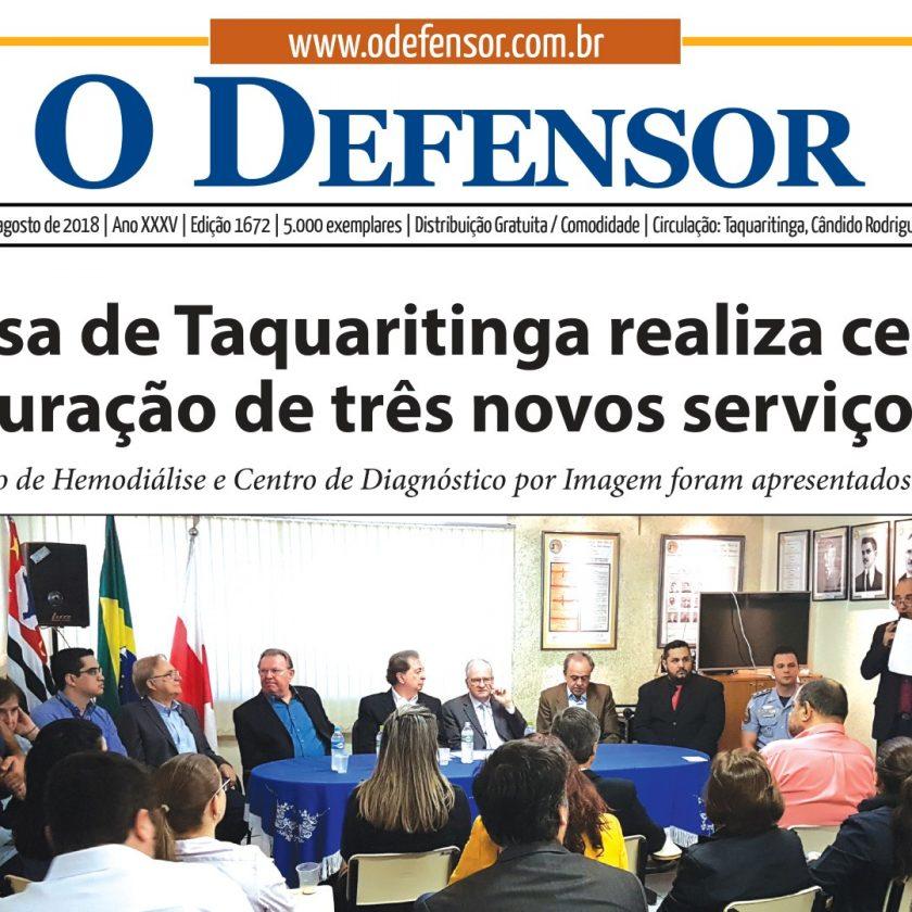 Jornal O Defensor já está nos pontos de distribuição