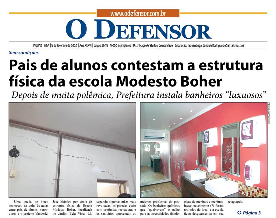 Jornal O Defensor Já Está Nos Pontos De Distribuição O