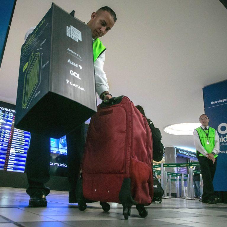 Viagem: cinco aeroportos reforçam fiscalização de bagagens de mão