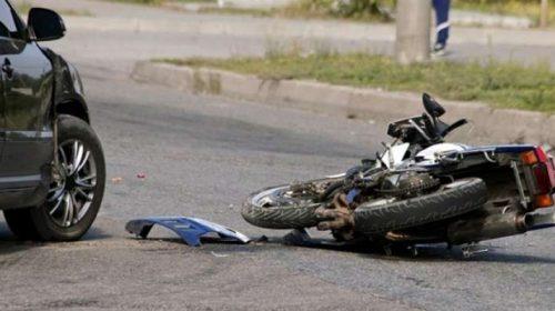 Motos geram 80% das internações em acidentes de trânsito