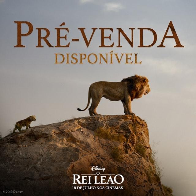 Ingresso do filme rei leão