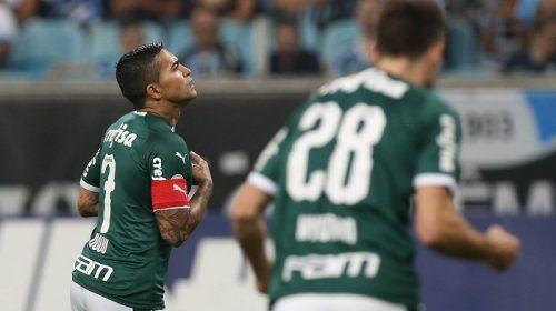 Fora de casa, Verdão sai na frente do Grêmio e sofre gol de empate no fim