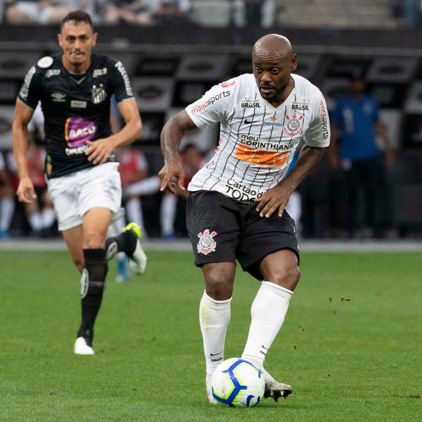 Na Arena Corinthians, Timão empata com o Santos pelo Brasileirão