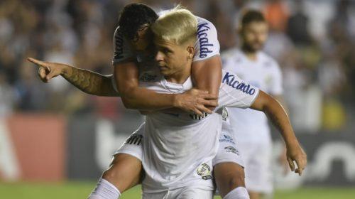 Santos goleia Botafogo na Vila Belmiro pelo Brasileirão