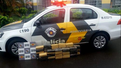 Araraquara (SP): Dois homens são presos com quase um quilo de cocaína