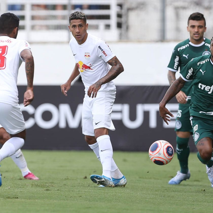 Palmeiras vai a Bragança e sofre primeiro revés para Bragantino em 23 anos